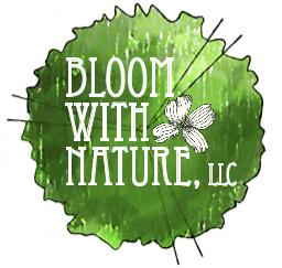 bloom with nature logo
